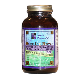 Fermented Cod Liver Oil with Butter - Non-flavored